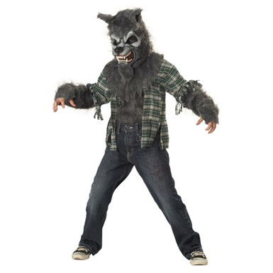 Child Wolf Costume - Werewolf