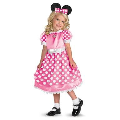 Child's Clubhouse Minnie Mouse - Pink Costume