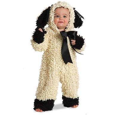 Childs Little Lamb Halloween Costume
