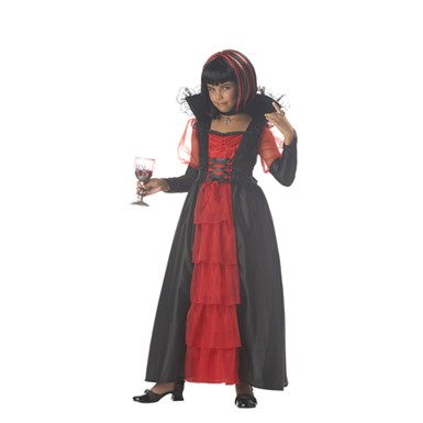 Child's Vampire Costume - Regal Vampira Girl