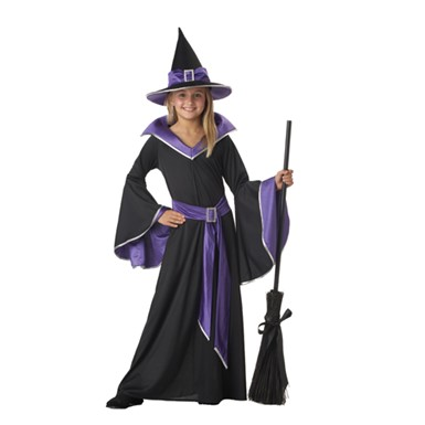 Child's Witch Costume - Incastia Glamour Witch