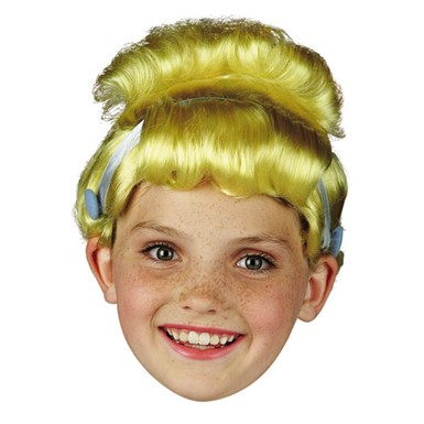 Cinderella Blonde Wig for Child Halloween Costume
