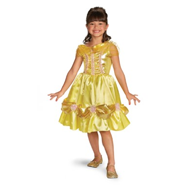 Classic Belle Sparkle Costume - Girls