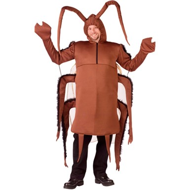 Cockroach Oversized Insect Mens Halloween Costumes