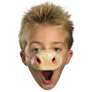 Cow Nose Animal Mask - Child