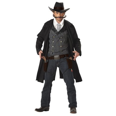 Cowboy Costume for Men - Gunfighter Cowboy