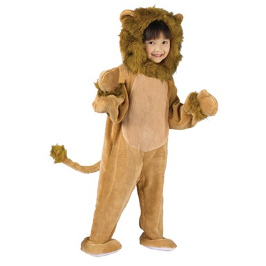 Cuddly Lion Toddler Kids Halloween Costume size 3T-4T