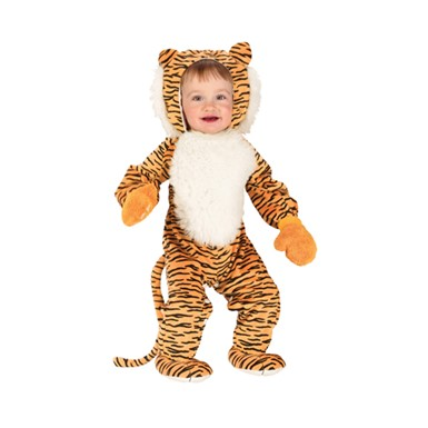 Cuddly Tiger Cat Infant Kids Halloween Costume