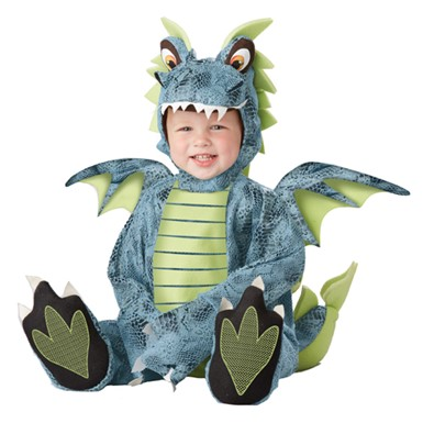 Darling Dragon Infant Romper Halloween Costume