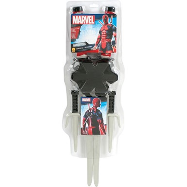 Deadpool Adult Halloween Costume Weapon Kit