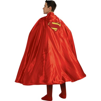 Deluxe Adult Superman Cape Costume Accessory