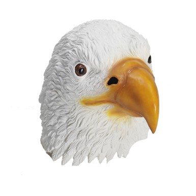 Deluxe American Eagle Latex Mask