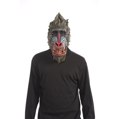 Deluxe Baboon Latex Mask