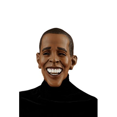 Deluxe Barack Obama Mask Democrat for Halloween Costume