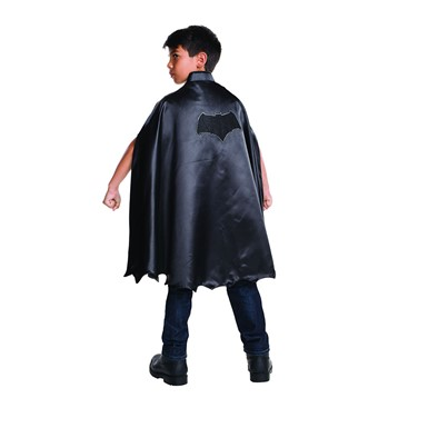 Deluxe Child Black Batman Cape for Costume
