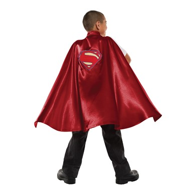 Deluxe Child Superman Cape Costume Accessory