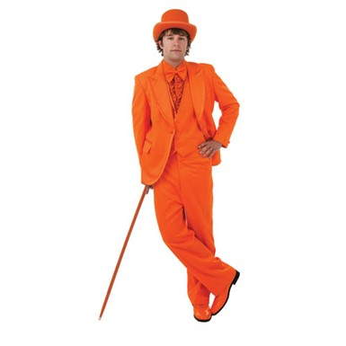 Deluxe Dumb And Dumber Orange Tuxedo