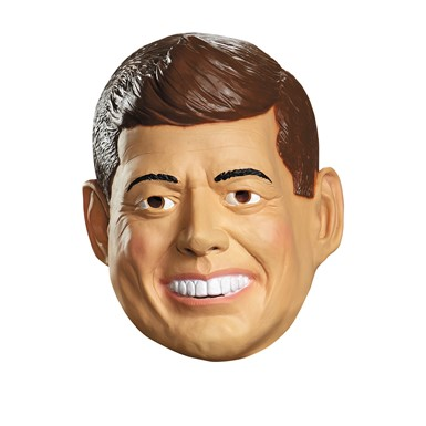 Deluxe John F. Kennedy Latex Mask