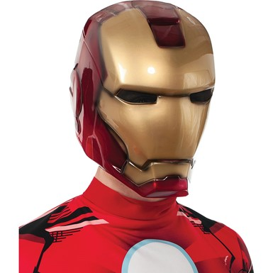 Deluxe Mens Iron Man 3 Mask