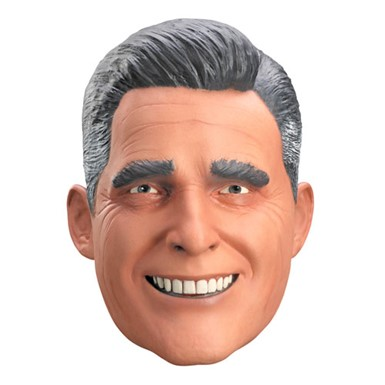 Deluxe Mitt Romney Halloween Costume Accessory Mask