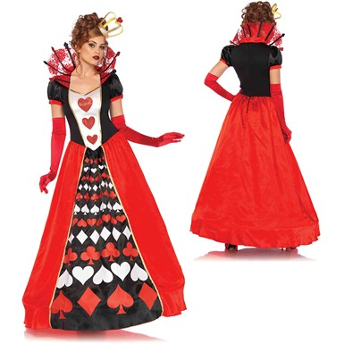 Deluxe Queen of Hearts Costume – Womens