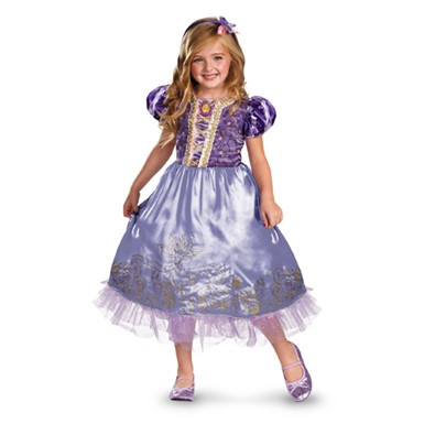 Deluxe Rapunzel Sparkle Costume - Girls