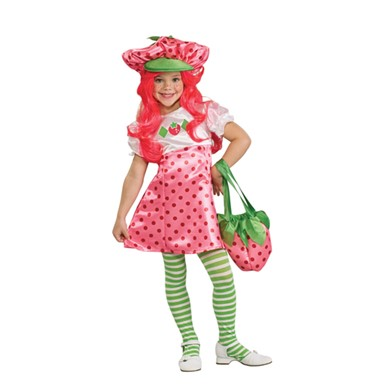 Deluxe Strawberry Shortcake Kids Halloween Costume