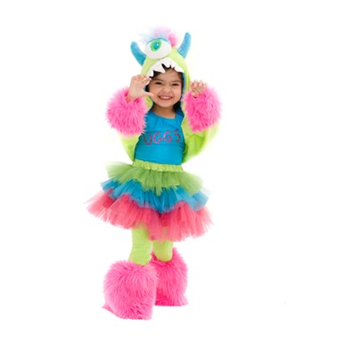 deluxe uggsy monstar child monster halloween costume - Baby Monster Halloween Costumes