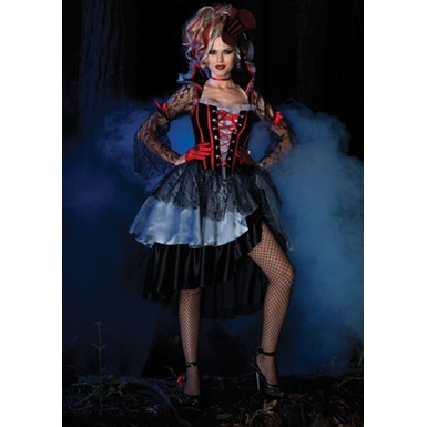 Deluxe Womens Immortal Queen Vampire Halloween Costume