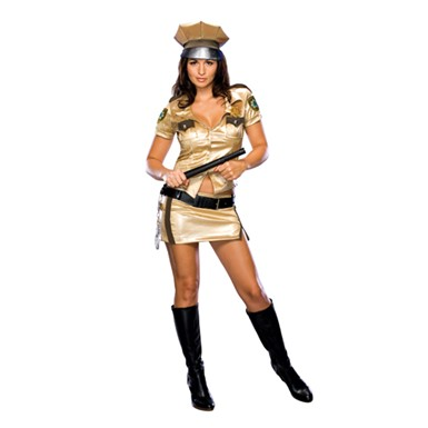 Deputy Johnson Halloween Costume - Deluxe Reno 911 Outfit