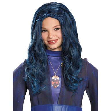 Descendants Evie Blue Wig