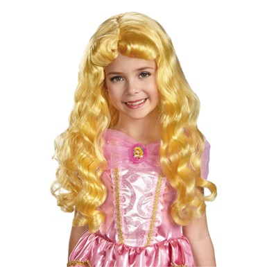 Disney Halloween Aurora Wig for Child