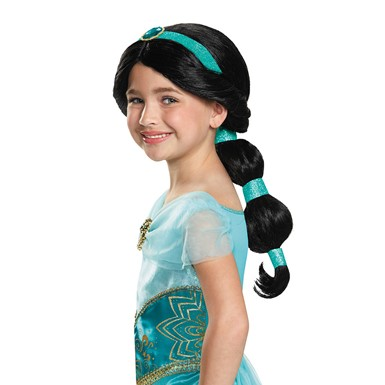 Disney Halloween Jasmine Wig for Child