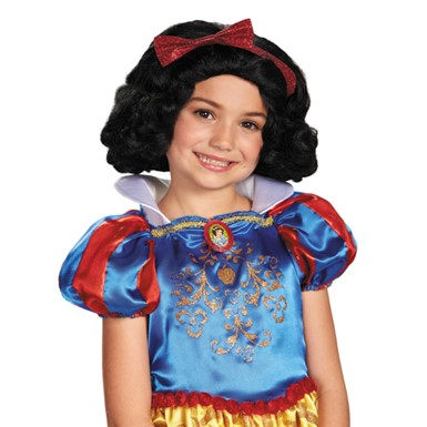 Disney Halloween Snow White Wig for Child