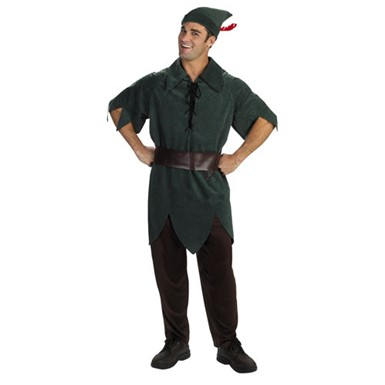 Disney Peter Pan Adult Halloween Costume 42-46