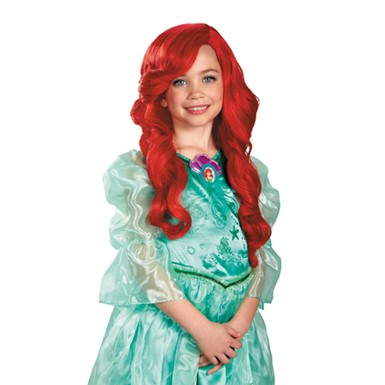 Disney Princess Little Mermaid Ariel Wig for Child