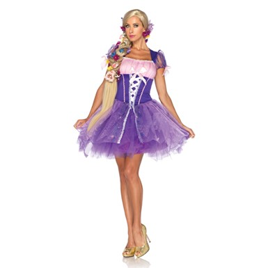 Disney Princess Sexy Rapunzel Womens Halloween Costume