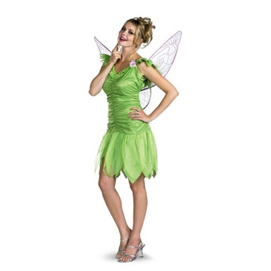 Disney Tinker Bell Fairy Adult Halloween Costume