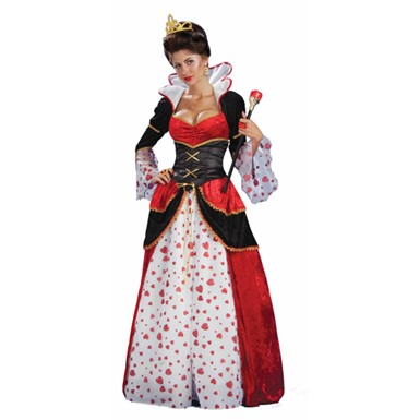 Disney Womens Queen Of Hearts Halloween Costume