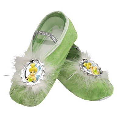 Disneys Tinkerbell Ballet Slippers Child Costume