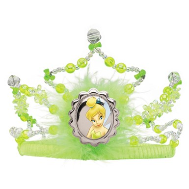 Disneys Tinkerbell Tiara Child Halloween Costume