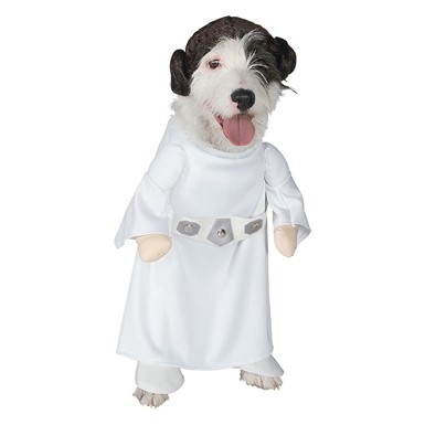 Dog Costume Star Wars - Princess Leia