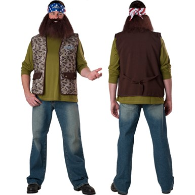 Duck Dynasty Willie Reality TV Costume Accessory Set