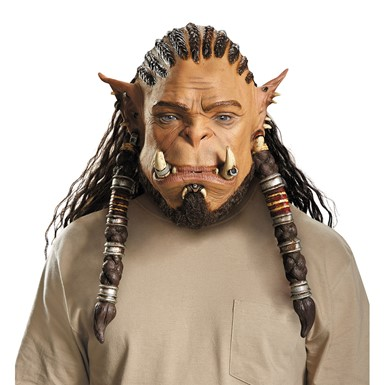 Durotan Deluxe Latex Mask – Adult