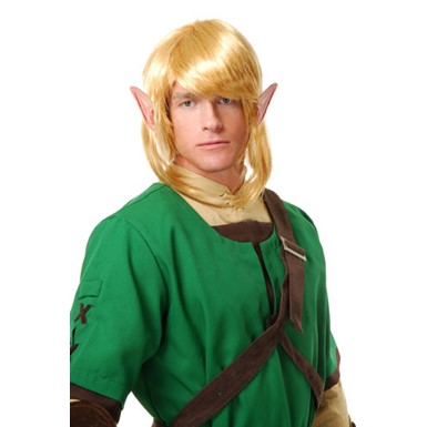 Elf Warrior Wig Halloween Fantasy Costume Accessory