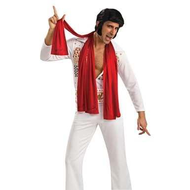 Elvis Presley Red Scarves Halloween Costume Accessory