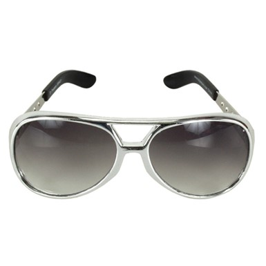 Elvis Sunglasses - Basic Silver
