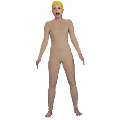Female Blow Up Doll Costume
