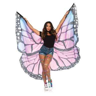 Festival Butterfly Wings Halter Cape