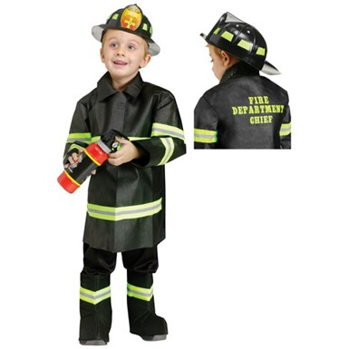 Fire Chief Toddler Halloween Costume
